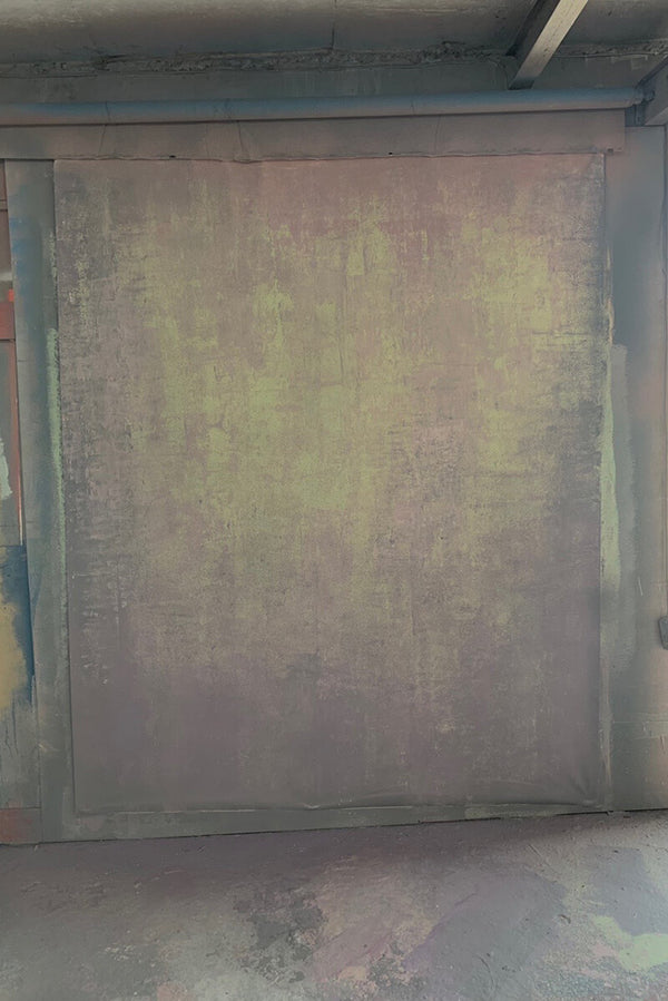 Clotstudio Abstract Dark Rosy Brown Beige Texture Hand Painted Canvas Backdrop #clot 14-Strong Textured-CLOT STUDIO
