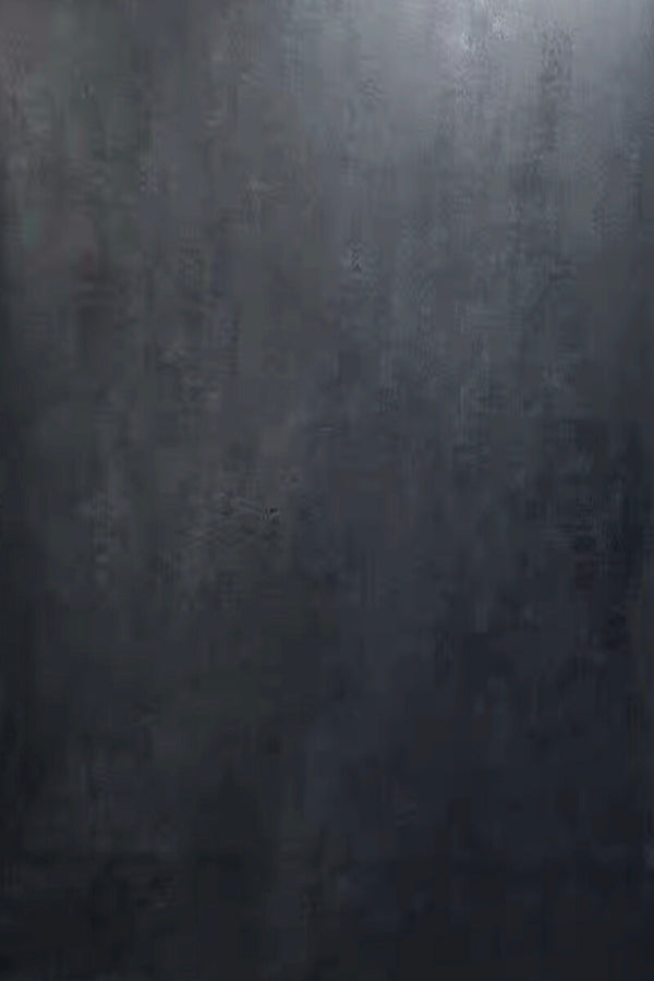 Clotstudio Abstract Grayish Black Blue Textured Hand Painted Canvas Backdrop #clot191