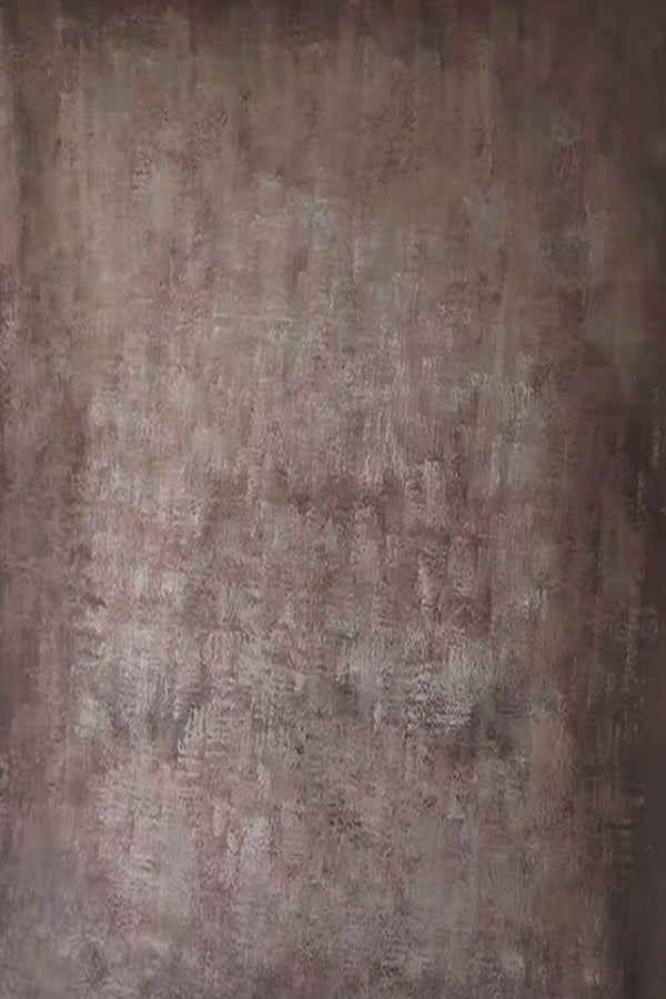 Clotstudio Abstract Brown Textured Hand Painted Canvas Backdrop #clot195