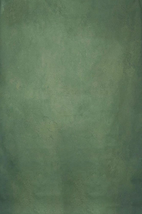 Clotstudio Abstract Green Textured Hand Painted Canvas Backdrop #clot209