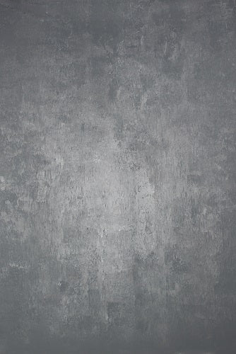 Clotstudio Abstract Grey Spray Textured Hand Painted Canvas Backdrop #clot 42-Mid Texture-CLOT STUDIO