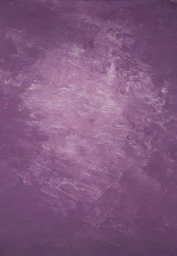 RTS-Clotstudio Abstract Purple Spray Textured Hand Painted Canvas Backdrop #clot 43