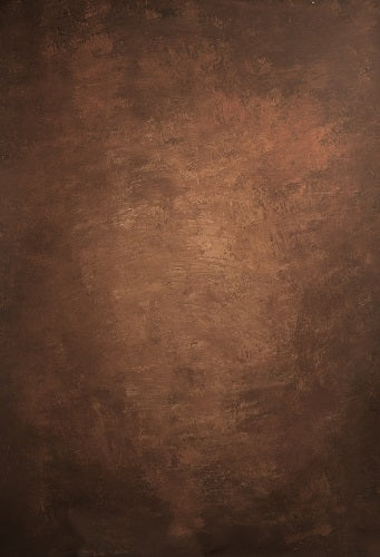 Clotstudio Abstract Red-Brown Spray Textured Hand Painted Canvas Backdrop #clot 44