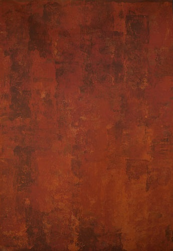 RTS-Clotstudio Abstract Orange Brown Spray Textured Hand Painted Canvas Backdrop #clot 45