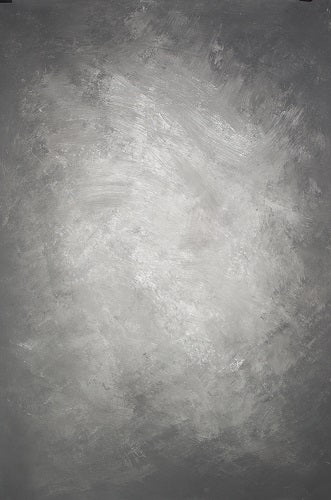 Clotstudio Abstract Black Grey Spray Textured Hand Painted Canvas Backdrop #clot 47-Mid Texture-CLOT STUDIO-custom hand painted canvas studio photo backdrops handmade photography backgrounds