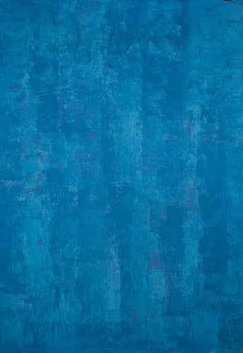 Clotstudio Abstract Blue Spray Textured Hand Painted Canvas Backdrop #clot 48