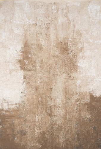 Abstract Beige Spray Textured Hand Painted Canvas #clot49