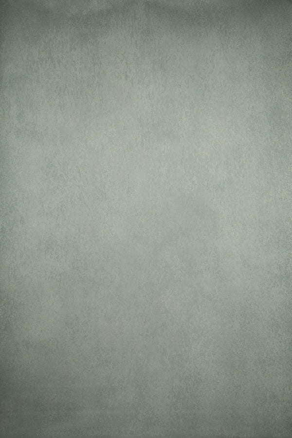 Clotstudio Abstract Gray Green Spray Textured Hand Painted Canvas Backdrop #clot 64