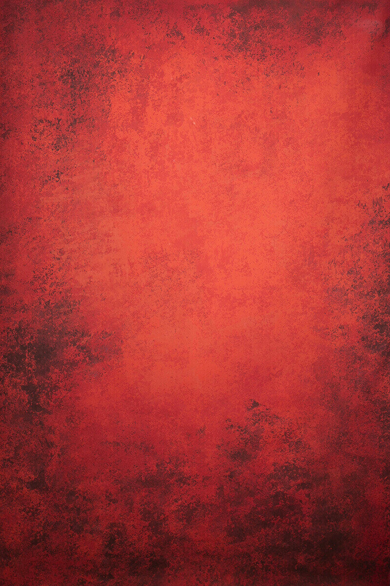RTS-Clotstudio Abstract Dark Red Soft Texture Hand Painted Canvas Backdrop #clot 69-Low texture