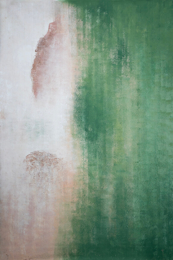 Clotstudio Abstract Beige Green Soft Texture Hand Painted Canvas Backdrop #clot 72-Low texture