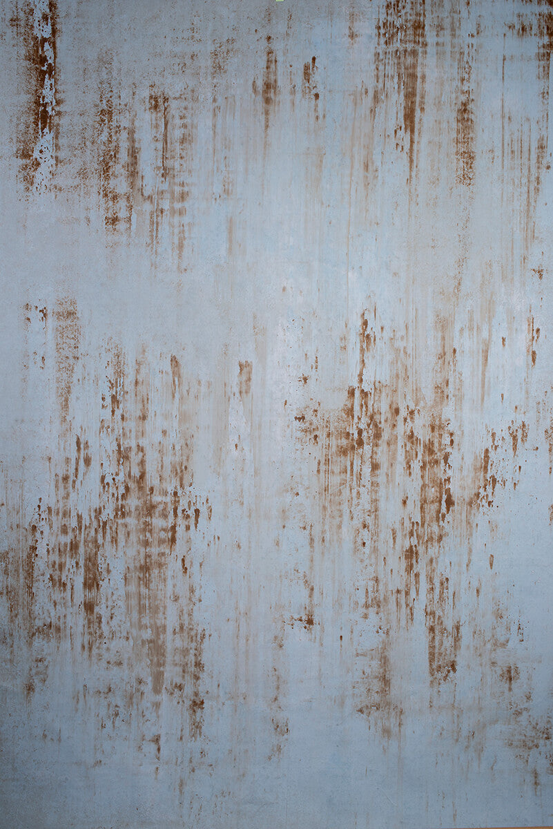 Clotstudio Abstract Cold Grey Textured Hand Painted Canvas Backdrop #clot 88