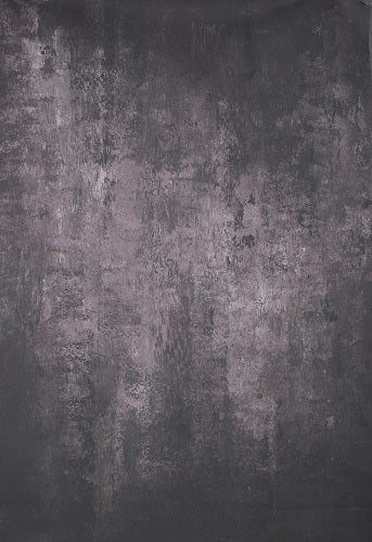 Clotstudio Abstract Purple Black Spray Textured Hand Painted Canvas Backdrop #clot 41