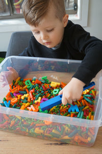 Rainbow Alphabet Matching - Sensory Kit