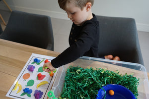 Fruit and Vegetable Farmers - Sensory Bin