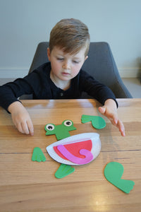 Frog in a Pond -  Sensory Bin Kit
