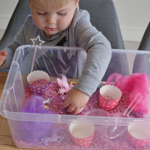 Magical Unicorn Wonderland - Sensory Bin Kit