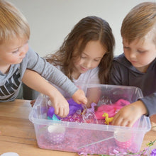 Load image into Gallery viewer, Content Only :  Magical Unicorn Wonderland - Sensory Bin Kit