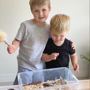 Nature Scavenger Hunt - Sensory Bin Kit