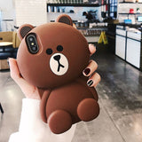 3D Brown Bear