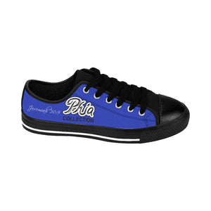 Blue PHIA Collection Logo Sneakers - Hidden In God