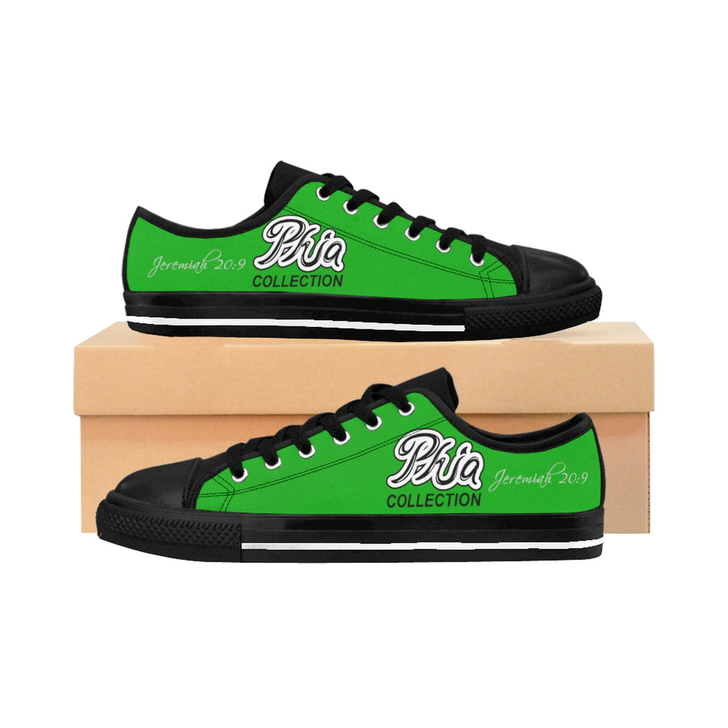 Green PHIA Collection Logo Sneakers - Hidden In God