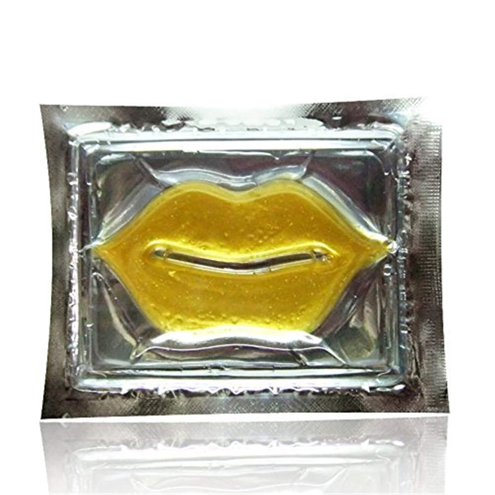 Crystal 24K Gold Gel Lip Mask - Hidden In God