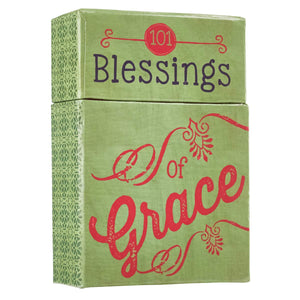 "101 Blessings of Grace"" Cards - Hidden In God"