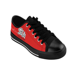 Red PHIA Collection Logo Sneakers - Hidden In God