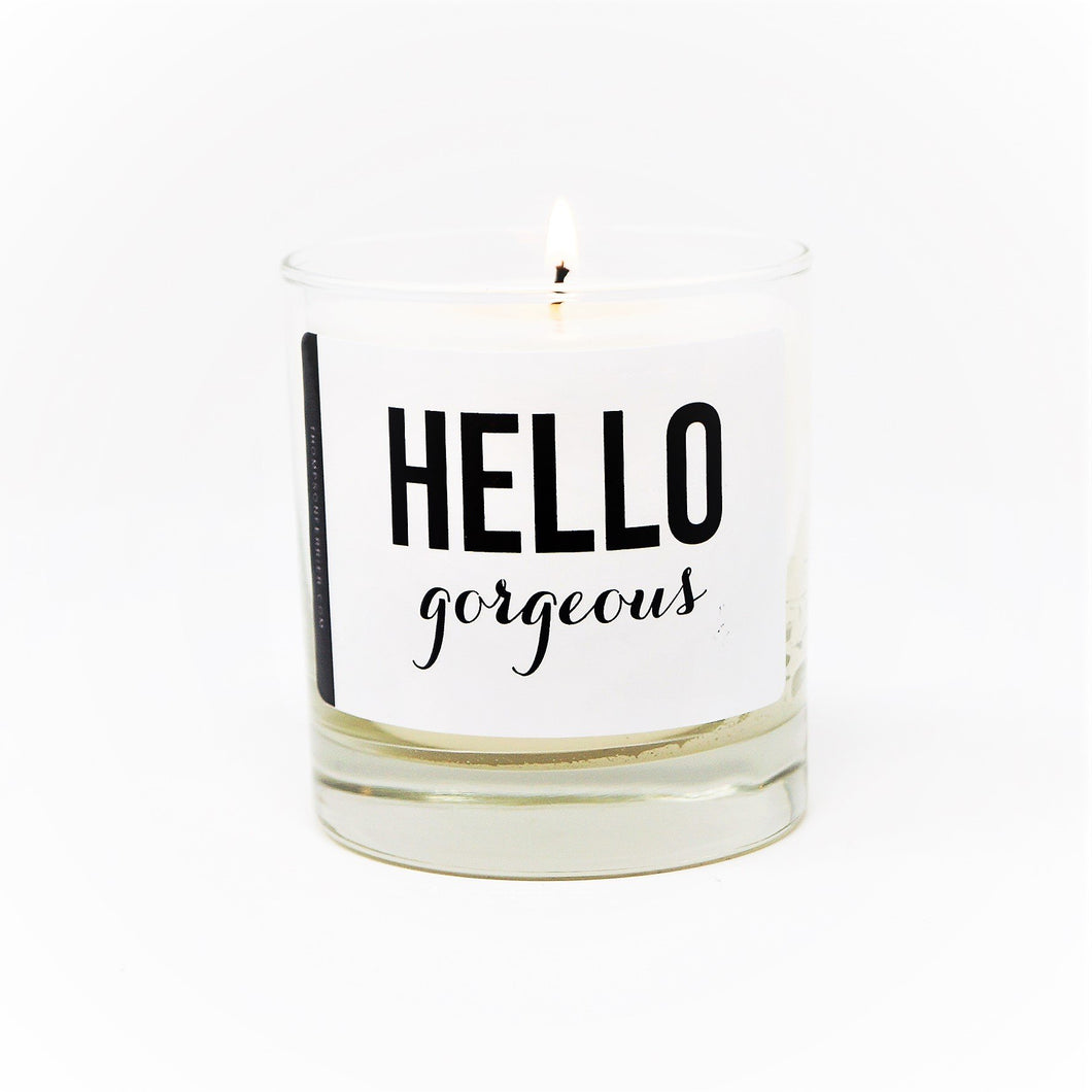 Hello Gorgeous Candle - Hidden In God