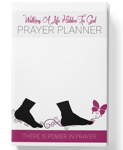 Soft Cover Hidden In God Prayer Planner - Hidden In God