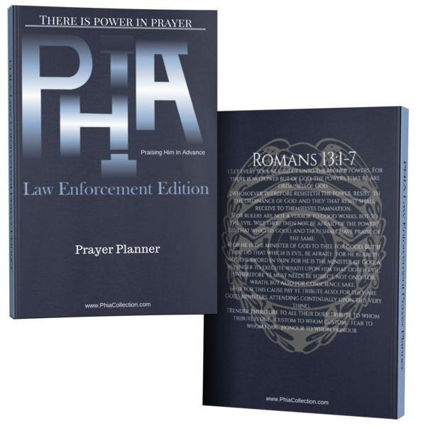 PHIA Law Enforcement Prayer Planner - Hidden In God