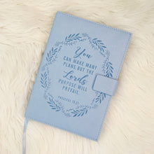 Faux Leather Journal - Hidden In God