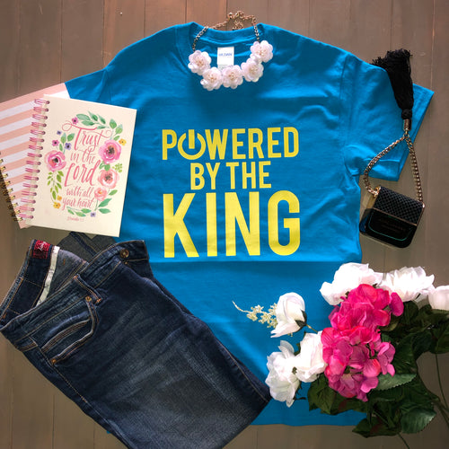 Powered by the King Tee - Hidden In God