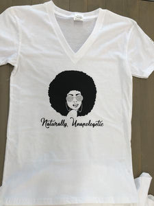 Naturally Unapologetic Tee - Hidden In God
