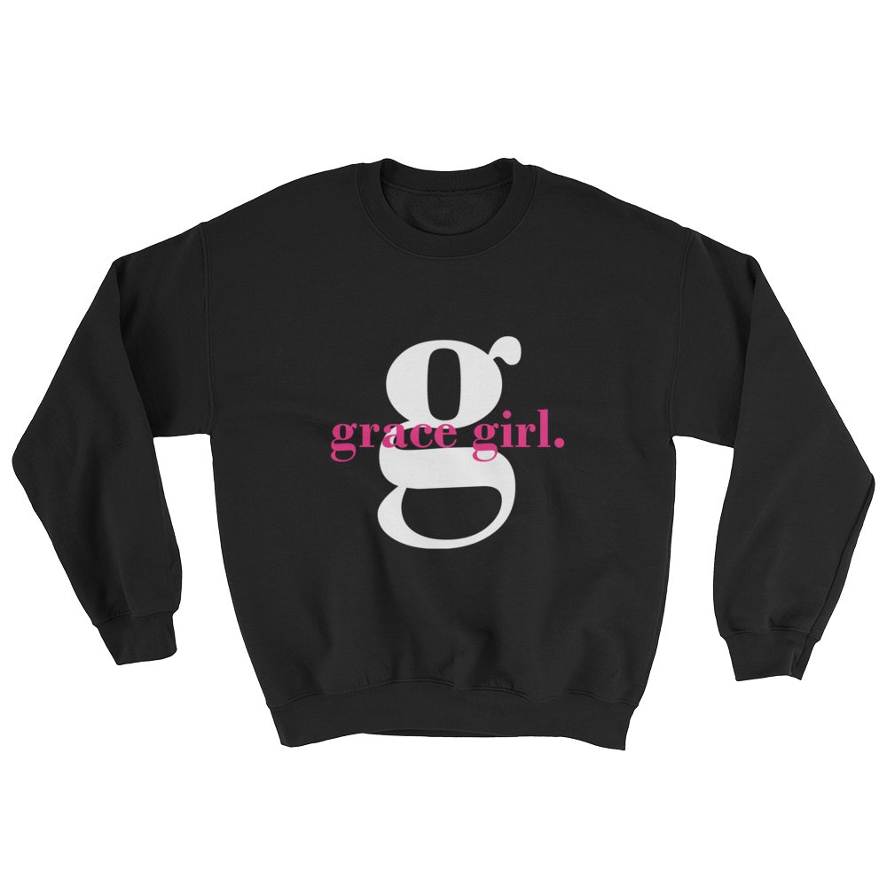 Grace Girl Signature Sweatshirt - Hidden In God