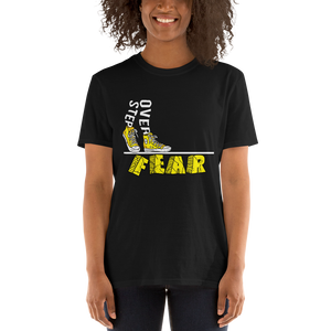 Step Over Fear Tee - Hidden In God