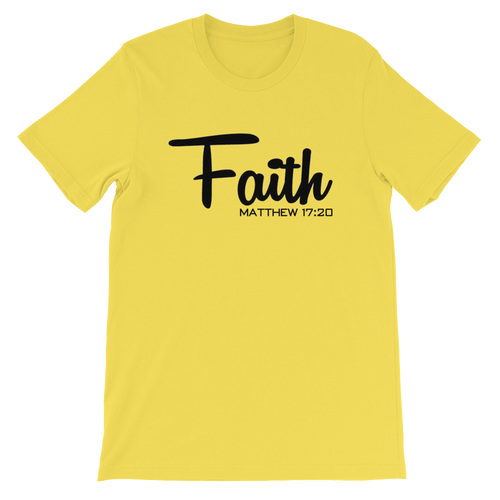 Faith Matthew 17:20 Tee - Hidden In God