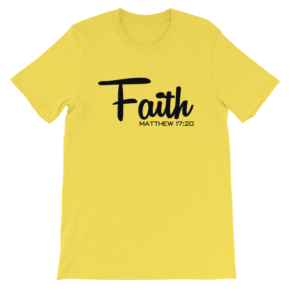 Faith Matthew 17:20 Tee