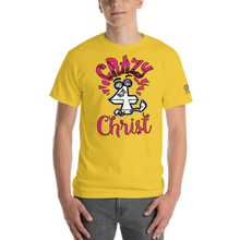 Pink Crazy For Christ PHIA Collection Tee - Hidden In God