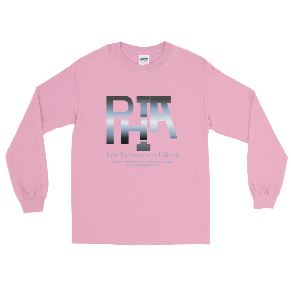 PHIA LEO Breast Cancer Awareness Long Sleeve Shirt - Hidden In God