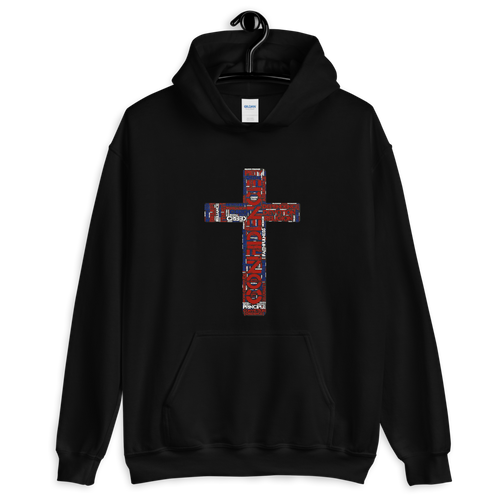Confidence in the Cross Hoodie - Hidden In God