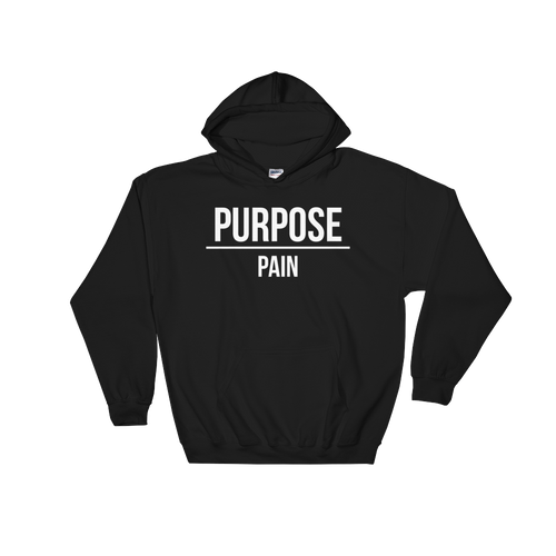 Purpose Over Pain Hoodie - Hidden In God