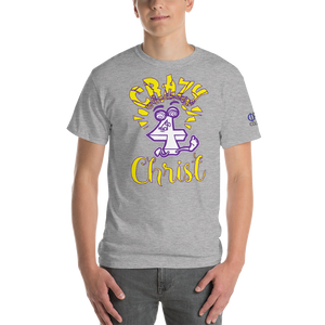 Yellow Crazy For Christ PHIA Collection Tee - Hidden In God