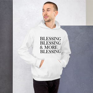 More Blessing Hooded Sweatshirt - Hidden In God