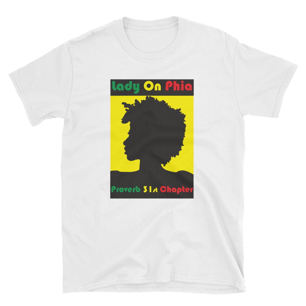 Lady On PHIA Collection Afro Tee - Hidden In God
