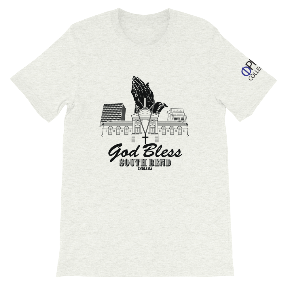 God Bless South Bend Unisex T-Shirt - Hidden In God