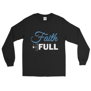 Faith Full Black Long Sleeve T-Shirt