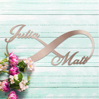 Stunning Personalized Infinity Sign - A Top Seller!