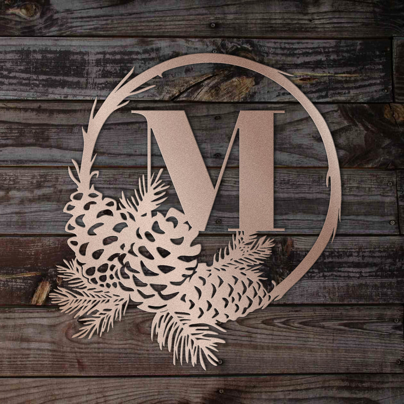 Wreath Family Monogram