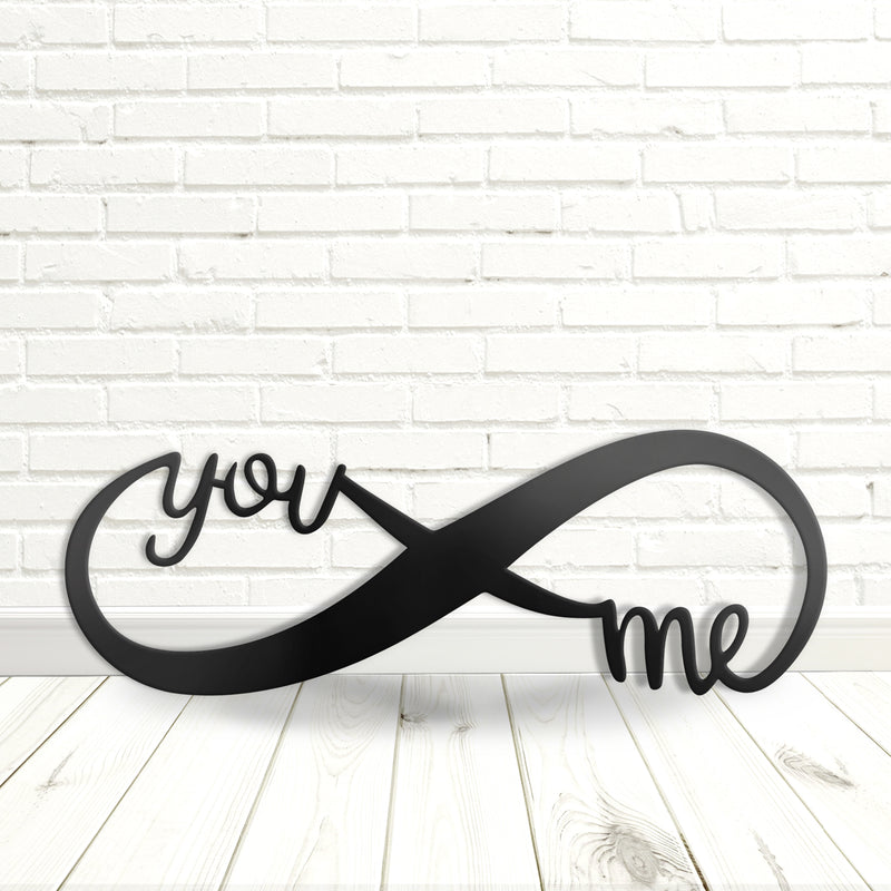You & Me Infinity Sign